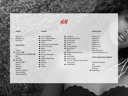 H and M screenshot