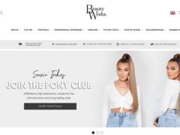 Beauty Works Online screenshot
