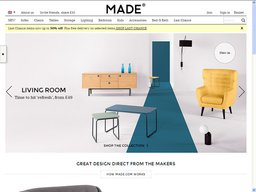 Made.com screenshot