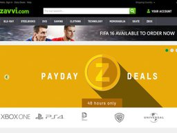 Zavvi UK screenshot
