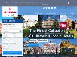 Britannia Hotels screenshot