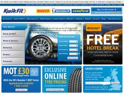 Kwik Fit screenshot