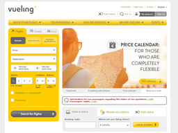 Vueling screenshot