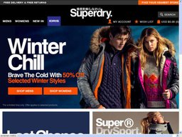 Superdry screenshot