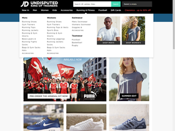 JD Sports screenshot