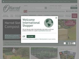Harrod Horticultural screenshot