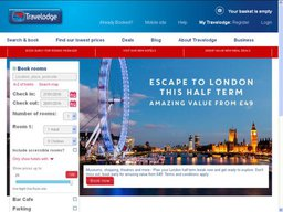 Travelodge screenshot