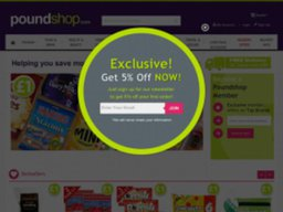 Poundshop screenshot