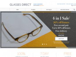 Glasses Direct screenshot