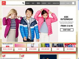 Uniqlo screenshot