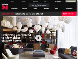 CitizenM screenshot