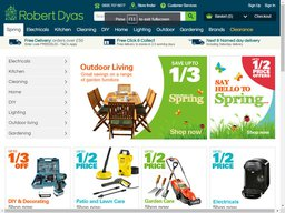 Robert Dyas screenshot
