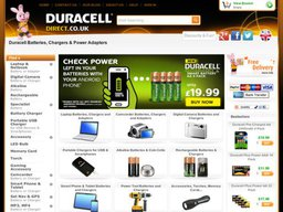 Duracell Direct UK screenshot