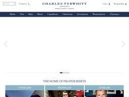 Charles Tyrwhitt screenshot