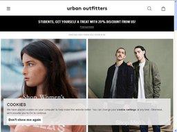 Urban Outfitters screenshot