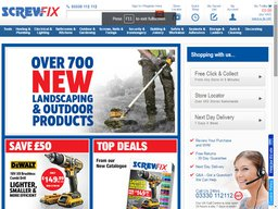 Screwfix screenshot