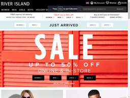 River Island screenshot