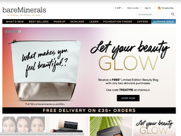 BareMinerals screenshot