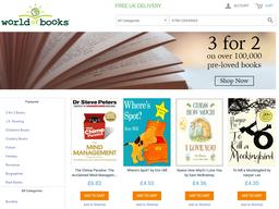 World of Books screenshot