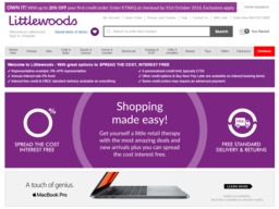 Littlewoods screenshot
