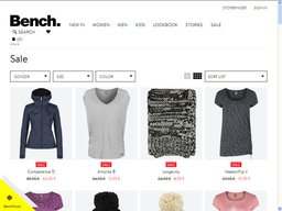 Bench UK screenshot