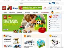 LEGO UK screenshot