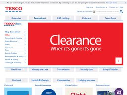 TESCO screenshot