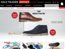 Soletrader Outlet screenshot