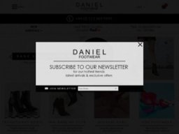 Daniel Footwear screenshot