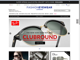 Fashion Eyewear screenshot