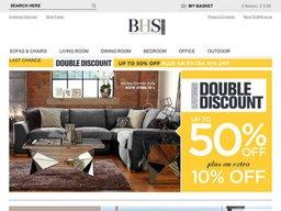 BHS Furniture screenshot