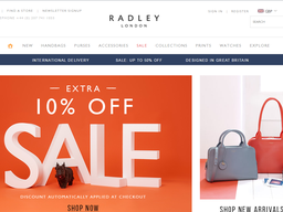 Save with Radley London promo codes and coupons for November Today's top Radley London offer: 10% OFF. Find 6 Radley London coupons and discounts at fasttoronto9rr.cf Tested and verified on November 30, %(42).
