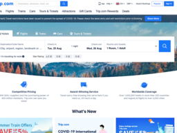 Ctrip.com (Global) screenshot