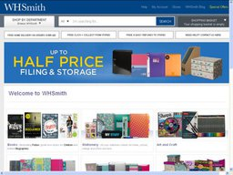 WHSmith screenshot