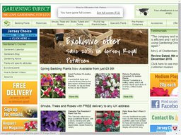 Gardening Direct screenshot