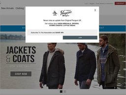 Original Penguin screenshot