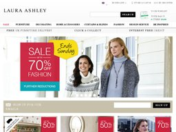Laura Ashley screenshot