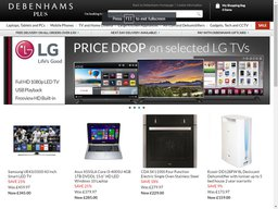 Debenhams Plus screenshot
