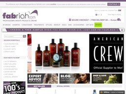 Fabriah.com screenshot