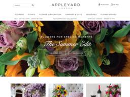 Appleyard Flowers screenshot