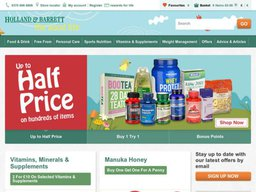 Holland & Barrett screenshot