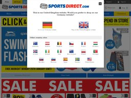 Sports Direct screenshot