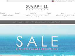 Sugarhill Boutique screenshot