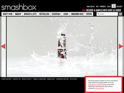 Smashbox UK screenshot