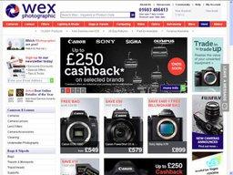 Wex Photographic screenshot