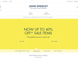 John Smedley screenshot