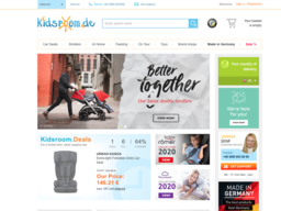 kidsroom.de - Baby- und Kinderausstatter screenshot