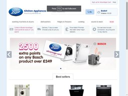 Boots Kitchen appliances screenshot