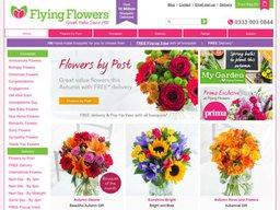 Flying Flowers screenshot