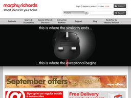 Morphy Richards screenshot